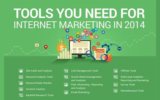 Ferramentas que irá necessitar para o Marketing na Internet em 2014