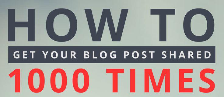 Sabe como fazer com que os posts do seu Blog sejam partilhados?