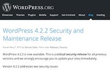 Saiu novo Update Crítico de Segurança para WordPress! Ainda não actualizou? Faça-o já.