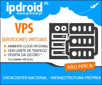 """A Ipdroid oferece o """"Serviço de Gestão"""" em toda a sua gama de Servidores Virtuais (VPS)"""
