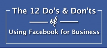 """Tem uma página de negócio no Facebook? Eis alguns """"do's and don'ts"""""""