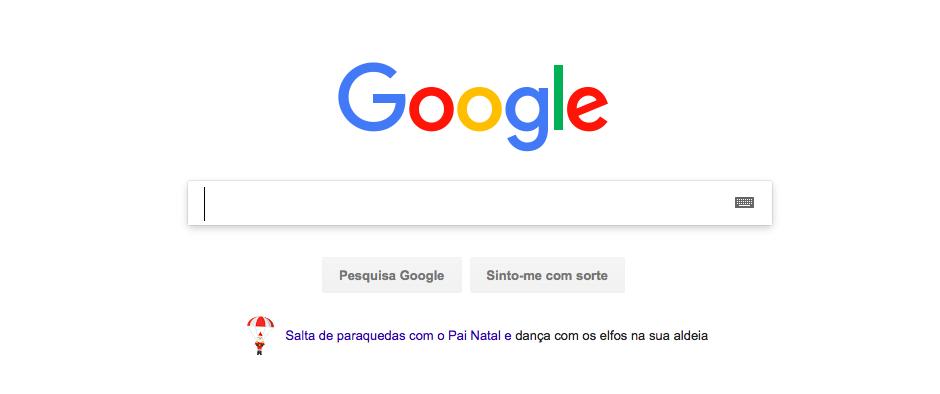 Google Puzzle Games Natal 2017
