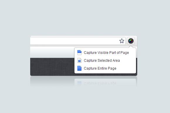Captura de ecran em plugin para o seu browser