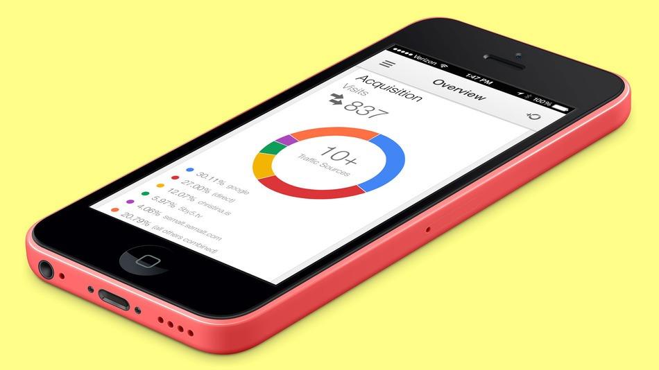 A Google lançou finalmente a versão para iPhone do Google Analytics