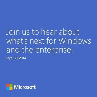 Windows 9 – Apresentação confirmada para dia 30 de Setembro