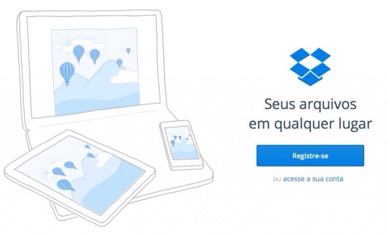 Roubados acessos a contas Dropbox