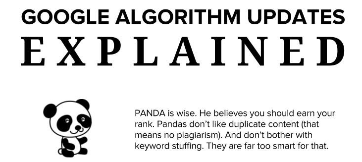 As actualizações ao algoritmo da Google – Explicadas