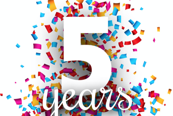 Celebramos 5 anos de Ipdroid!